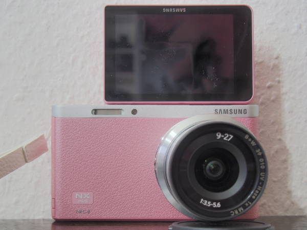 Samsung NX Mini 180°-Display