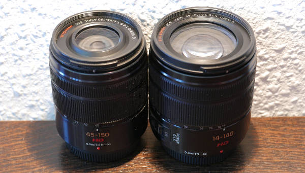 Panasonic 14-140mm (II) vs. Panasonic 45-150mm