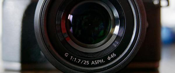 Panasonic Lumix G 25mm F1.7