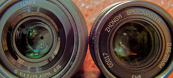 Panasonic 25mm F1.7 gegen ZY Optics Mitakon 25mm F0.95